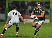 GEORGE, SOUTH AFRICA - JUNE 17: Thomas du Toit of South Africa during the match between South Africa 'A' and England Saxons at Outeniqua Park on June 17 2016 in George, South Africa. (Photo by Roger Sedres/Gallo Images)