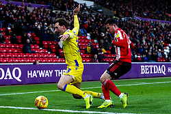 Alex Rodman of Bristol Rovers takes on Bryan Oviedo of Sunderland - Mandatory by-line: Robbie Stephenson/JMP - 15/12/2018 - FOOTBALL - Stadium of Light - Sunderland, England - Sunderland v Bristol Rovers - Sky Bet League One