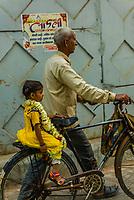 Holi (festival of colors), Mathura, Uttar Pradesh, India.