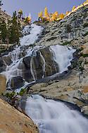Horsetail Falls along Pyramid Creek, Deoslation Wilderness, El Dorado County, California