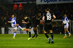 Liam Sercombe of Bristol Rovers takes a shot at goal - Mandatory by-line: Dougie Allward/JMP - 24/04/2018 - FOOTBALL - Memorial Stadium - Bristol, England - Bristol Rovers v Wigan Athletic - Sky Bet League One