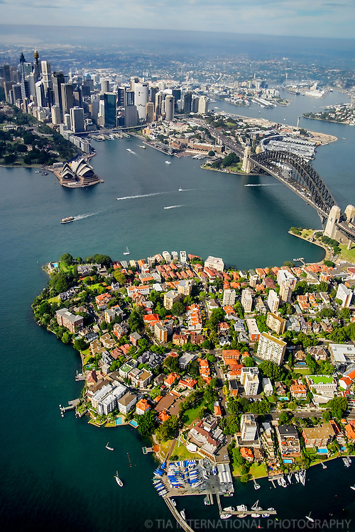 Sydney and Kirribilli (North Sydney)