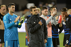 June 9, 2018 - San Jose, California, United States - San Jose, CA - Saturday June 09, 2018: San Jose Earthquakes, Chris Wondolowski during a Major League Soccer (MLS) match between the San Jose Earthquakes and Los Angeles Football Club at Avaya Stadium. (Credit Image: © John Todd/ISIPhotos via ZUMA Wire)