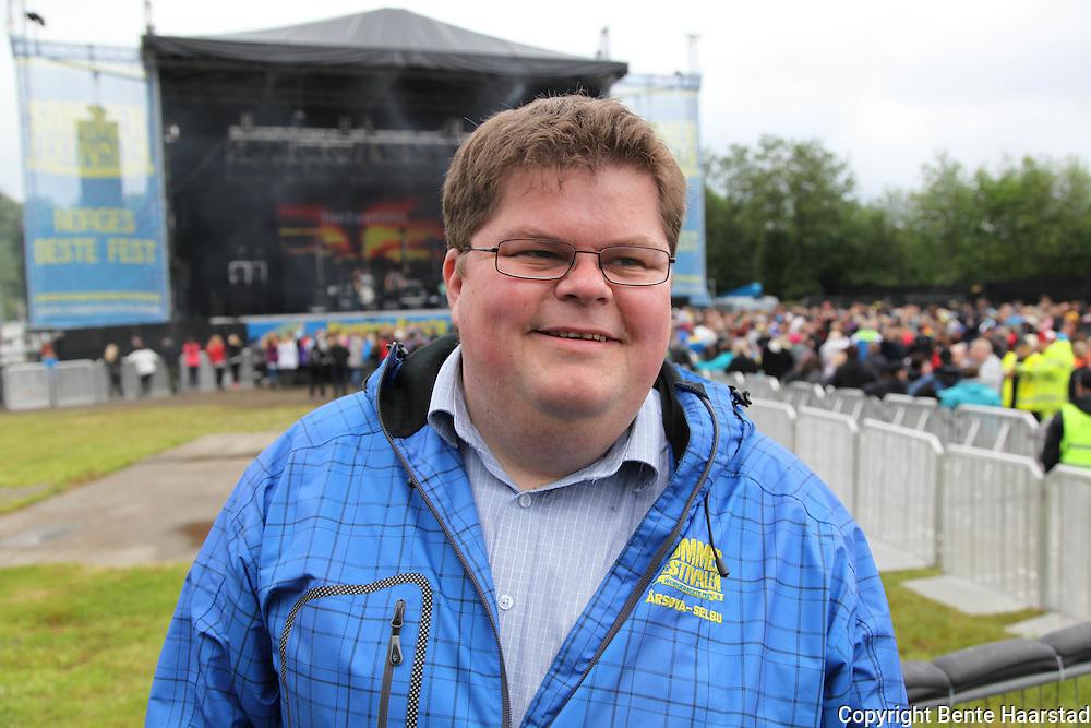 Sommerfestivalen i Selbu, 2011. Too Far Gone. Morten Dahlø, festivalsjef.