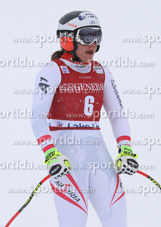 28.11.2017, Lake Louise, CAN, FIS Weltcup Ski Alpin, Lake Louise, Abfahrt, Damen, 1. Training, im Bild Ramona Siebenhofer (AUT) // Ramona Siebenhofer of Austria during the 1st practice run of ladie's Downhill of FIS Ski Alpine World Cup in Lake Louise, Canada on 2017/11/28. EXPA Pictures &copy; 2017, PhotoCredit: EXPA/ Sammy Minkoff<br /> <br /> *****ATTENTION - OUT of GER*****