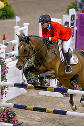 Madden Beezie, USA, Danny Boy<br /> World Cup Final Jumping - Las Vegas 2009<br /> © Hippo Foto - Dirk Caremans<br /> 17/04/2009