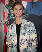 2019, September 20. Pathe ArenA, Amsterdam, the Netherlands. Casper Feddema at the premiere of Misfit 2.