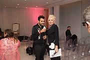 PABLO GANGULI; AMANDA ELIASCH, Liberatum host A special 'In Conversation' event Courtney Love with Dylan Jones, As part of the Liberatum 'Women in Creativity' series<br /> St. Martins Lane hotel, London. 21st March 2016