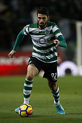 December 1, 2017 - Lisbon, Portugal - Sporting's defender Cristiano Piccini in action  during Primeira Liga 2017/18 match between Sporting CP vs CF Belenenses, in Lisbon, on December 1, 2017. (Credit Image: © Carlos Palma/NurPhoto via ZUMA Press)