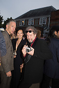 JEFFERSON HACK; MIKE FIGGIS, 2016 SERPENTINE SUMMER FUNDRAISER PARTY CO-HOSTED BY TOMMY HILFIGER. Serpentine Pavilion, Designed by Bjarke Ingels (BIG), Kensington Gardens. London. 6 July 2016