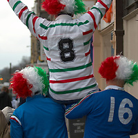 Edinburgh 24th Feb 2007 Rugby six nations Scotland-Italy  Fans and Supporters