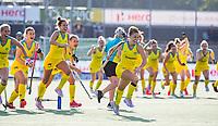 AMSTELVEEN - middle Sofia TOCCALINO (ARG) . Semi Final Pro League  women, Argentina-Australia (1-1) . Austr. wns. COPYRIGHT KOEN SUYK