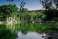This small lake in the Qingxiu Mountain park is surrounded by lush foilage and a range of attractions.