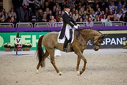 WULFERDING Kira (GER), Bonita Springs<br /> Frankfurt - Festhallen Reitturnier 2019<br /> NÜRNBERGER BURG-POKAL der Dressurreiter – Finale 2019<br /> St-Georg-Special für 7-9 jährige Pferde<br /> 21. Dezember 2019<br /> © www.sportfotos-lafrentz.de/Stefan Lafrentz