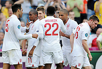 Fotball , 11. juni 2012 , Euro , England - Frankrike<br />