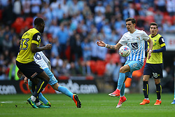 Ruben Lameiras of Coventry City controls the ball - Photo mandatory by-line: Jason Brown/JMP -  02/04//2017 - SPORT - Football - London - Wembley Stadium - Coventry City v Oxford United - Checkatrade Trophy Final