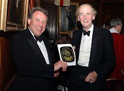 The British Antiques Dealers Association's Biennial Banquet held at Armoury House, HAC, City Road, London EC1 on 25th November 2004.<br />Picture shows left to right, HENRY NEVILLE and SIR NICHOLAS GOODISON.<br />COMPLIMENTARY PICTURES FOR USE IN RELATION TO THE BADA BANQUET ONLY.  LICENSE VALID UNTIL 26/03/2005.
