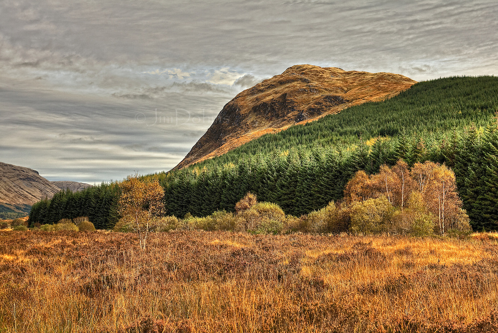 Driving from Oban to Tynbum on A 85 provides you with views like this.