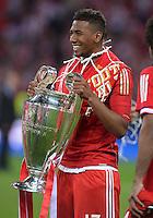 FUSSBALL  CHAMPIONS LEAGUE  SAISON 2012/2013  FINALE  Borussia Dortmund - FC Bayern Muenchen         25.05.2013 Champions League Sieger 2013 FC Bayern Muenchen: Jerome Boateng (FC Bayern Muenchen)