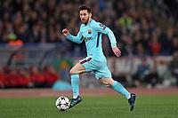 Leo Messi Barcellona<br />Roma 10-04-2018 Stadio Olimpico<br />Champions League, Quarti di Finale. <br />AS Roma - Barcellona / AS Roma - Barcelona<br />Foto Luca Pagliaricci / Insidefoto