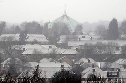 © Licensed to London News Pictures. 18/01/2013.Snow fall in the borough of Bromley, South East London over night..Snow in Bromley and across the UK today (18.01.13) as  temperatures stay low..Photo credit : Grant Falvey/LNP
