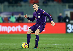 February 27, 2019 - Florence, Italy - Fiorentina v Atalanta : Italian Cup semifinal .Nikola Milenkovic of Fiorentina at Artemio Franchi Stadium in Florence, Italy on February 27, 2019. (Credit Image: © Matteo Ciambelli/NurPhoto via ZUMA Press)