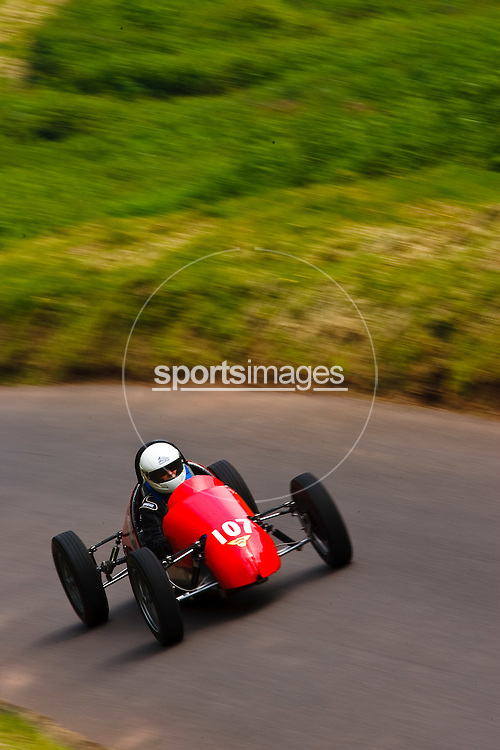 Car number  107 at Shelsley Hill climb 6/6/10