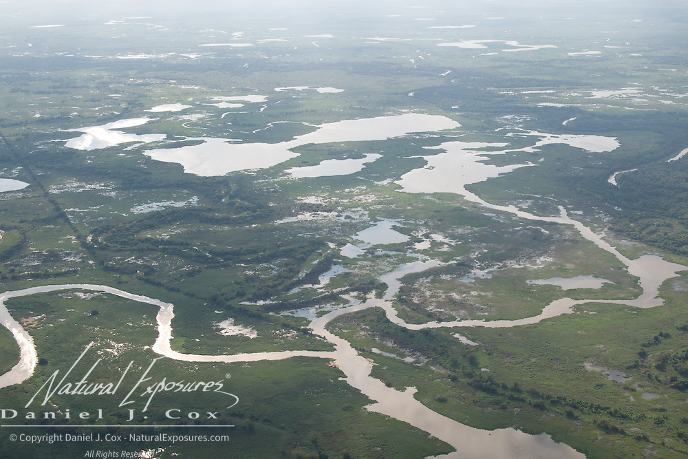 The Cuiaba river, Pantanal, Brazil