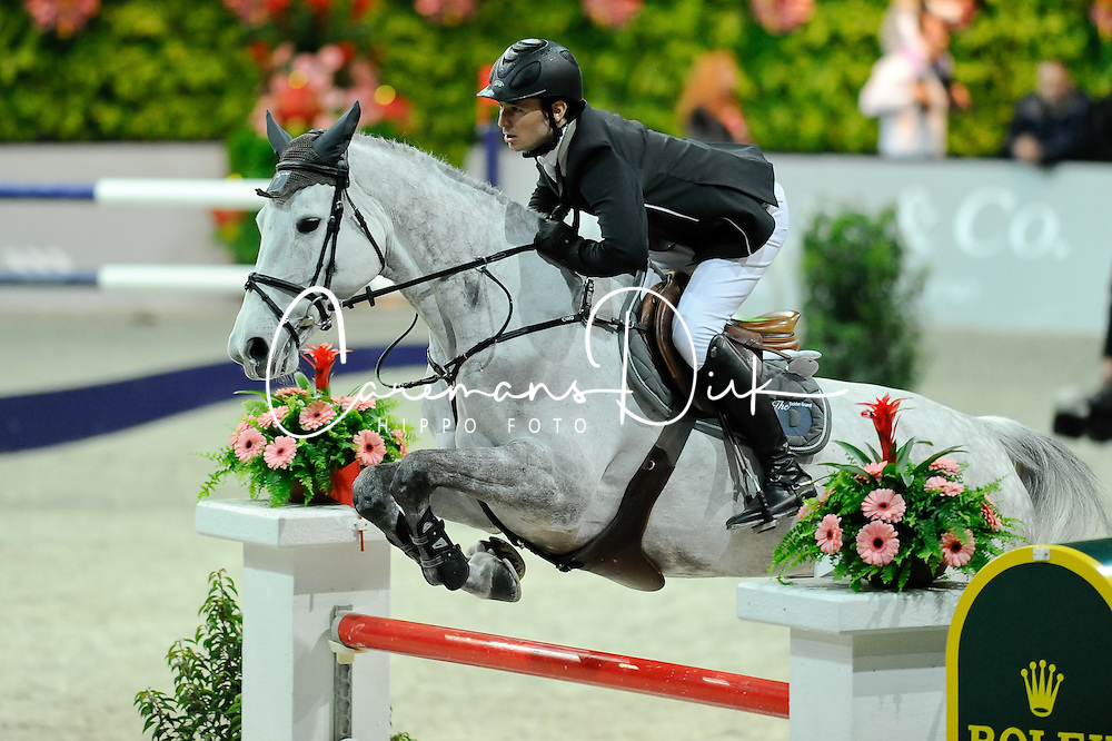 Guerdat Steve (SUI) - Nasa<br /> Winner of the Rolex Grand Prix - Zurich 2012<br /> &copy; Hippo Foto - Cealy Tetly