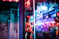 A portrait of Yaya, a ladyboy prostitute in Pattaya, Thailand. Yaya moved from northern Thailand in early 2010 and is currently working to save money for her first breast enhancement surgery. Many of Thailand's ladyboys live in Pattaya, a large percentage of whom work in the sex industry there.