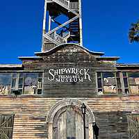 Key West Shipwreck Museum in Key West, Florida<br /> This wooden, 65 foot observation tower near Mallory Square is a reproduction of the salvaging warehouse owned by Asa F. Tift.  He was the most famous and successful wrecker in Key West until he died in 1889. The Key West Shipwreck Museum has exhibits, artifacts, a film and actors telling the story of this fascinating and lucrative industry during its peak in the second half of the 19th century.