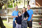 Ottley family portraits with senior pictures for Brent Ottley in Heritage Square, Phoenix, Arizona, April 16, 2016. (CNS photo/Nancy Wiechec)