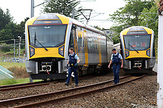 Auckland-Pedestrian dead after hit by train, Henderson