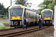Auckland-Pedestrian dead after hit by train, Henderson