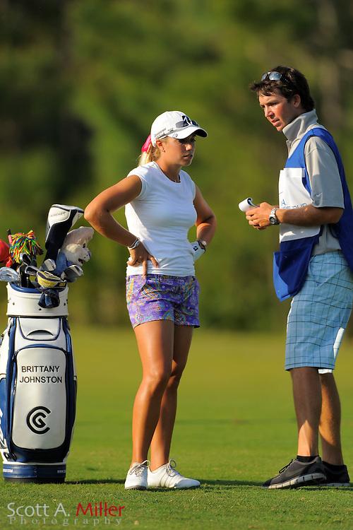 Brittany Johnson during the second round of the LPGA Futures Tour's Daytona Beach Invitational at LPGA International's Championship Course on April 2, 2011 in Daytona Beach, Florida... ©2011 Scott A. Miller