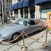NLD/Amsterdam/20161007 - Presentatie biografie over het leven van oud voetballer Johan Cruijff, auto van Johan Cruijff