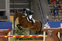 Lennon Dermott, IRL, Liscalgot<br /> Jumping final<br /> World Equestrian Games Jerez de la Fronteira 2002<br /> Photo © Dirk Caremans