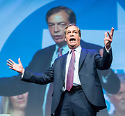 Brexit Party event<br /> Nigel Farage and Ann Widdecombe in Peterborough for a rally with the Brexit Party&rsquo;s Eastern region European election candidates. <br /> at King's Gate Conference Centre, Peterborough, Great Britain <br /> 7th May 2019 <br /> <br /> Nigel Farage - leader <br /> Richard Tice, party chairman <br /> Ann Widdecombe<br /> <br /> <br /> Michael Heaver<br /> <br /> June Mummery<br /> <br /> Paul Hearn<br /> <br /> Priscilla Huby<br /> <br /> Sean Lever<br /> <br /> Edmund Fordham<br /> <br /> <br /> <br /> Photograph by Elliott Franks