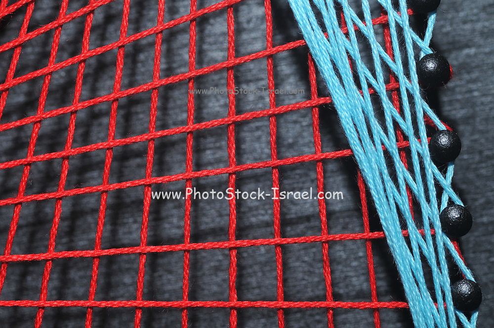 String art, or pin and thread art, handcraft