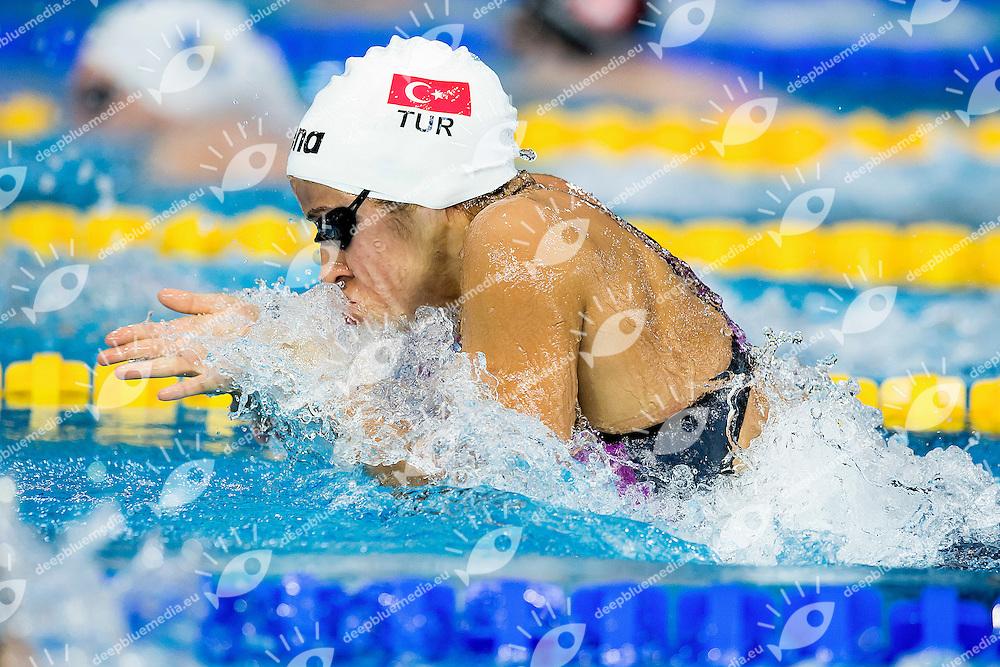 Sertler Melike TUR<br /> 100 Breaststroke Women Heats <br /> LEN 43rd Arena European Junior Swimming Championships<br /> Hodmezovasarhely, Hungary <br /> Day04 09-07-2016<br /> Photo Andrea Masini/Deepbluemedia/Insidefoto