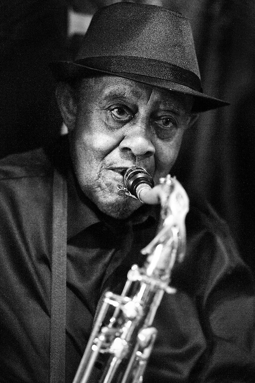 Renowned Jazz Saxophonist Tommy Grice playing at The Candlelight in Trenton, New Jersey.
