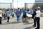 Bernie Sanders Rally Volunteers and Supporters at Santa Ana Valley High School