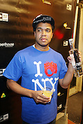 1 December 2010-New York, NY-  Photographer Johnny Nunez at The New Era Launch of his Limited Edition 59Fitfty Cap and Launch of his Eye Can Foundation held at The New Era Flagship Store on December 1, 2010 in New York City.Photo Credit: Terrence Jennings