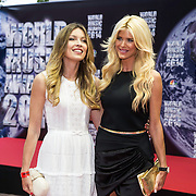 MON/Monaco/20140527 -World Music Awards 2014, Victoria Silvstedt and her sister Marietta