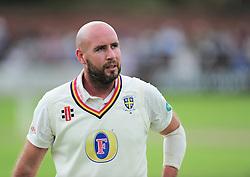 Chris Rushworth of Durham in action.  - Mandatory by-line: Alex Davidson/JMP - 05/08/2016 - CRICKET - The Cooper Associates County Ground - Taunton, United Kingdom - Somerset v Durham - County Championship - Day 2