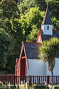 Maori church, Akaroa Peninsula, New Zealand