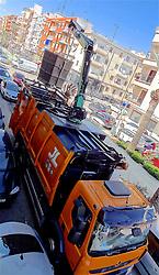April 16, 2018 - Denia | Denia, Spain | Espagne - Waste truck | Camion poubelle 16/04/2018 (Credit Image: © Patrick Lefevre/Belga via ZUMA Press)