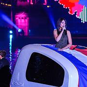 NLD/Amsterdam/20150926 - Afsluiting viering 200 jaar Koninkrijk der Nederlanden, Lissa Lewis in drijvende caravan