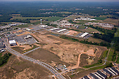 Aerial Photography of Maple Lawn Development in Howard County Maryland