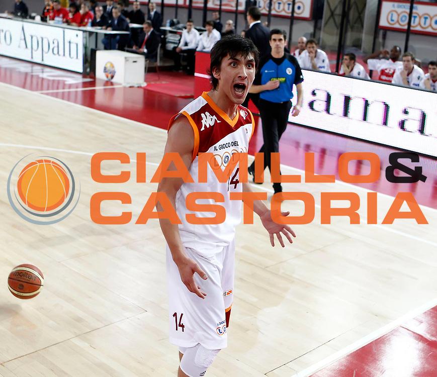 DESCRIZIONE : Roma Lega A 2010-11 Lottomatica Virtus Roma Cimberio Varese<br /> GIOCATORE : Nihad Dedovic<br /> SQUADRA : Lottomatica Virtus Roma<br /> EVENTO : Campionato Lega A 2010-2011 <br /> GARA : Lottomatica Virtus Roma Cimberio Varese<br /> DATA : 05/12/2010<br /> CATEGORIA : esultanza<br /> SPORT : Pallacanestro <br /> AUTORE : Agenzia Ciamillo-Castoria/ElioCastoria<br /> Galleria : Lega Basket A 2010-2011 <br /> Fotonotizia : Roma Lega A 2010-11 Lottomatica Virtus Roma Cimberio Varese<br /> Predefinita :